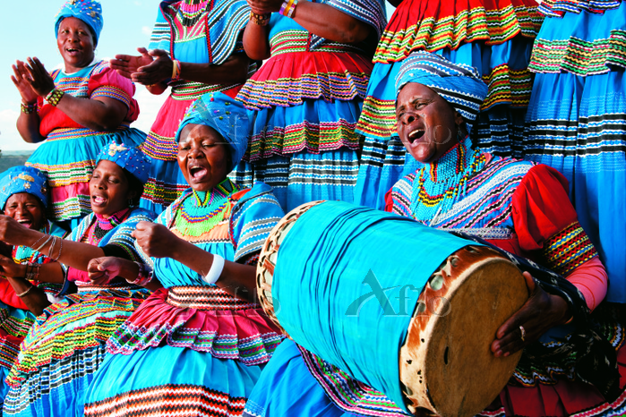 Basotho Women, Free State