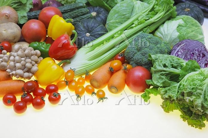 緑黄色野菜の集合