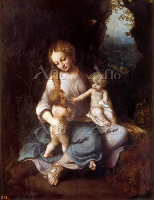 コレッジョ 「聖母子と幼児聖ヨハネ」