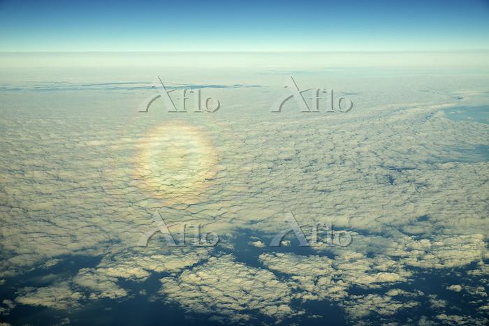Circular Rainbow over Atlantic・・・