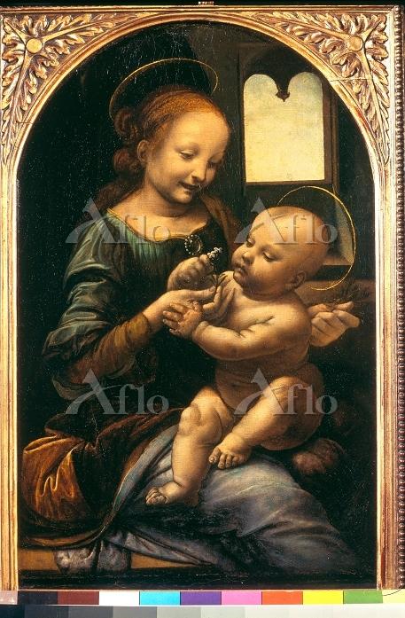 レオナルド・ダ・ヴィンチ 「ブノワの聖母子」