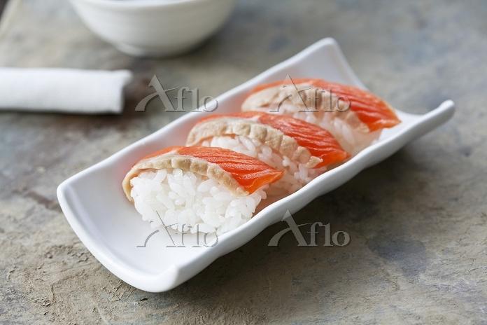 サーモンの握り寿司