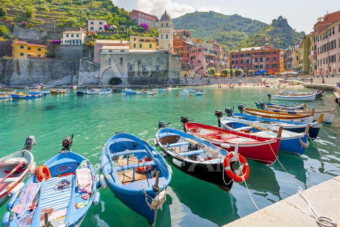 イタリア リグーリア州 船着き場