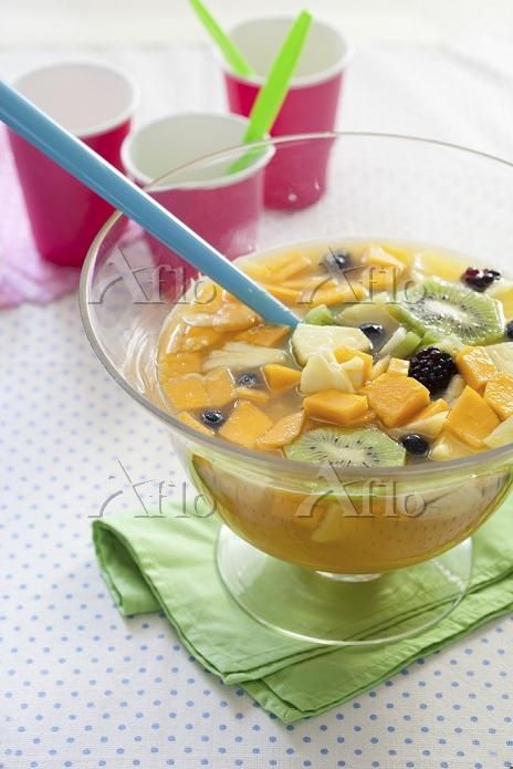 Fruit salad for a children's b・・・