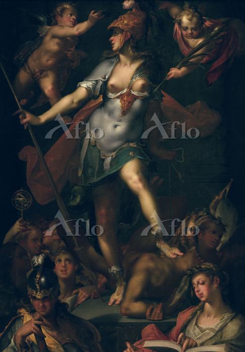 バルトロメウス・スプランヘル 「ミネルヴァの勝利」