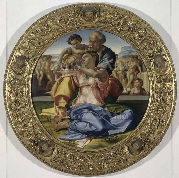 ミケランジェロ 「ドーニの聖家族」