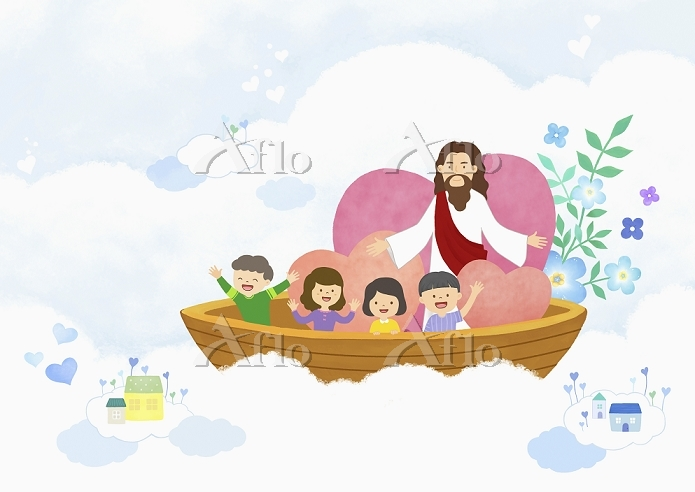 Illustration related to Christ・・・