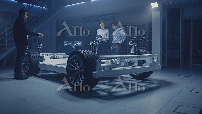 Automobile design engineers wo・・・