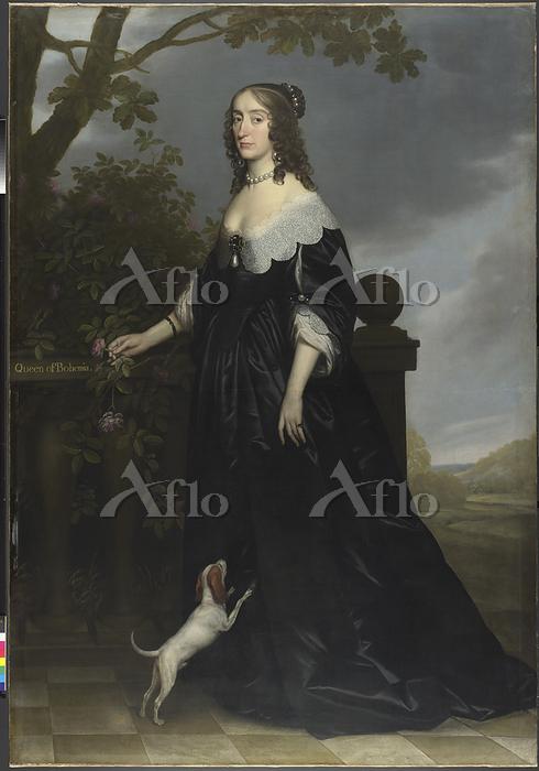 ヘリット・ファン・ホントホルスト「ボヘミア王妃エリザベス・ス・・・