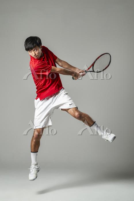 テニスプレーヤー