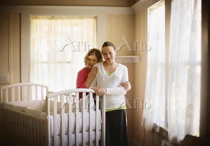 Portrait of an expectant woman・・・