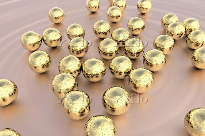 Gold nanoparticles, computer i・・・