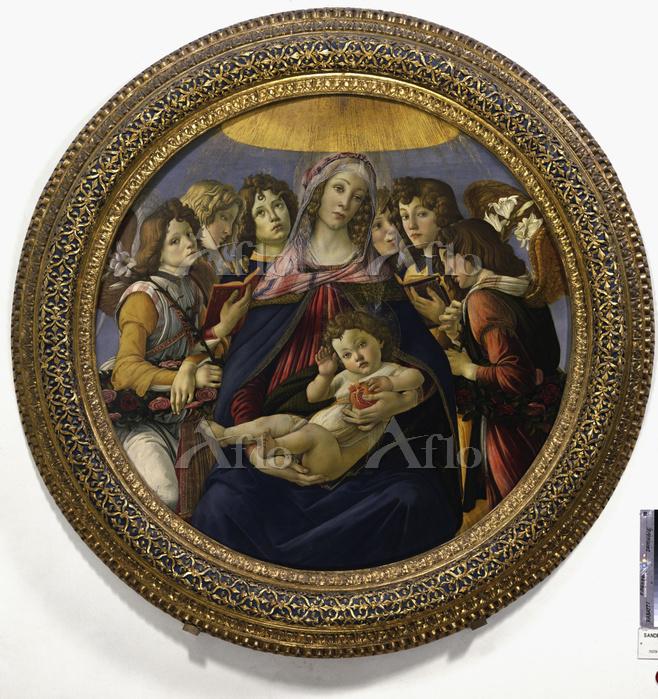 サンドロ・ボッティチェッリ 「柘榴の聖母」
