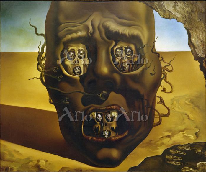 サルバドール・ダリ「戦争の顔」