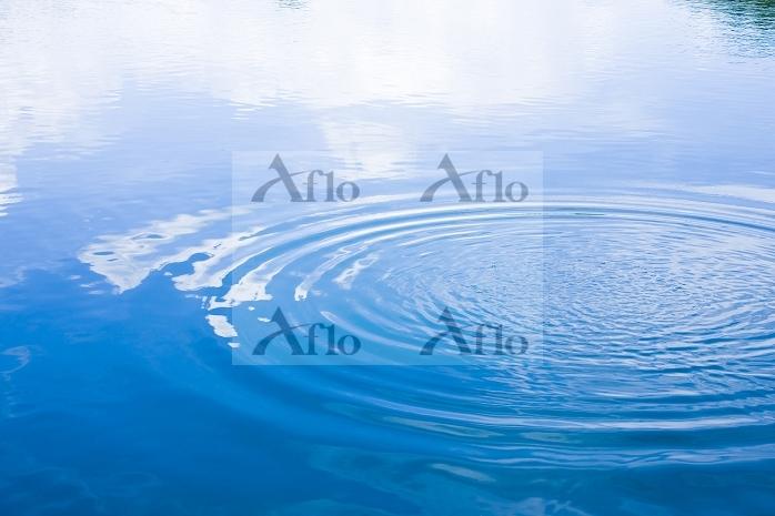滋賀県 水面の波紋