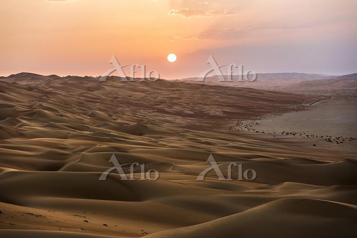 アラブ首長国連邦 砂漠 ルブアルハリ砂漠