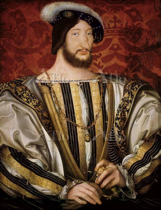 ジャン・クルーエ 「フランス国王フランソワ一世」