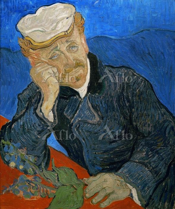 ゴッホ 「ジキタリスをもつ医師ガシェの肖像」