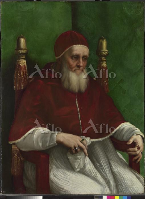 ラファエロ 「教皇ユリウス2世の肖像」