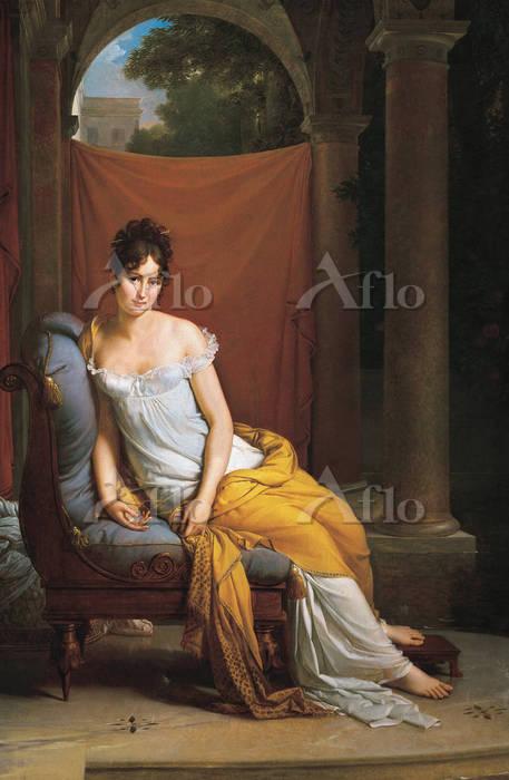 フランソワ・ジェラール 「レカミエ夫人の肖像(マダム・レカミ・・・
