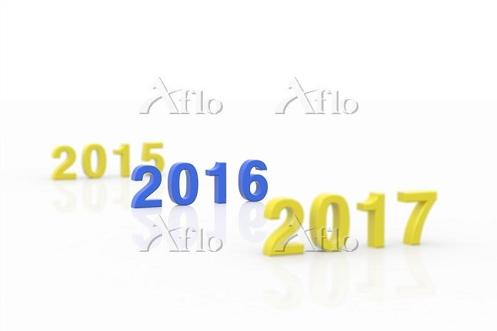 数字 2015 2016 2017 西暦 CG