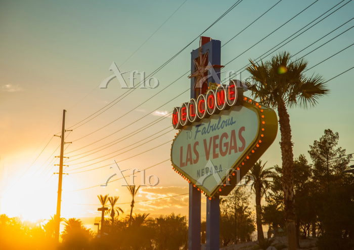 The 'Welcome to Las Vegas' sig・・・