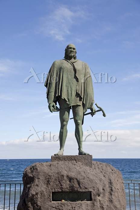 Statue of Guanche king Mencey ・・・