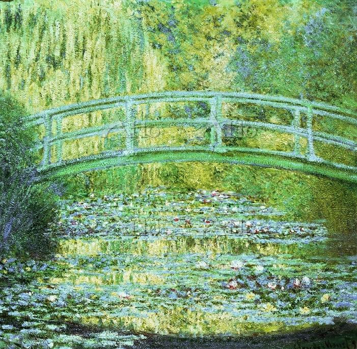 クロード・モネ 「睡蓮の池」