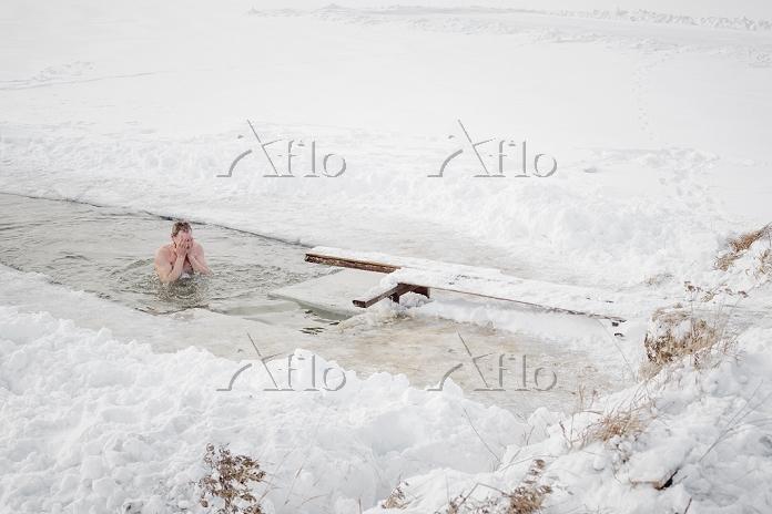 シベリア 30代 入浴