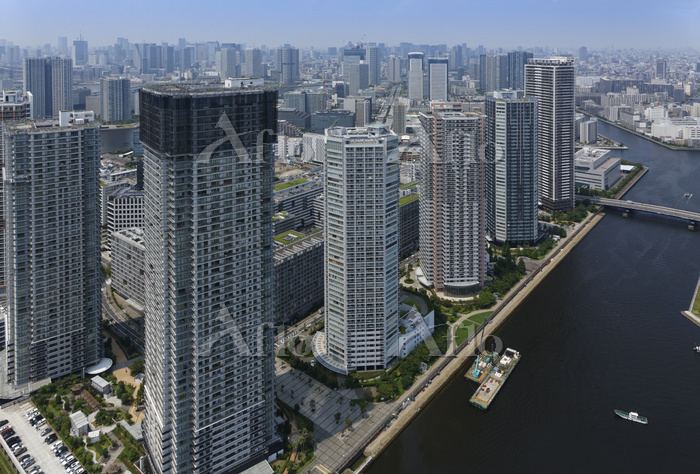 東京都 東雲 高層マンション群