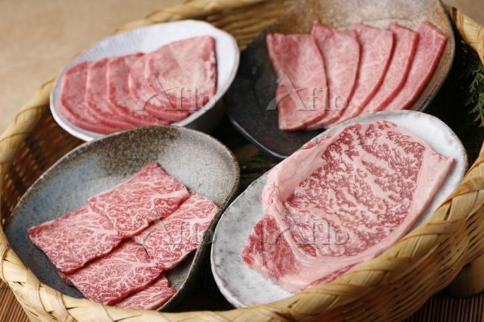 焼肉 肉盛り合わせ