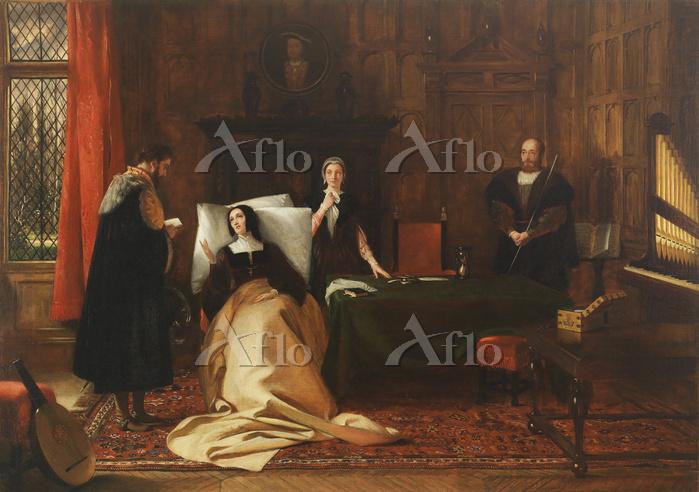 「キンボルトンでのヘンリー8世の大使キャピューシアスとキャサ・・・