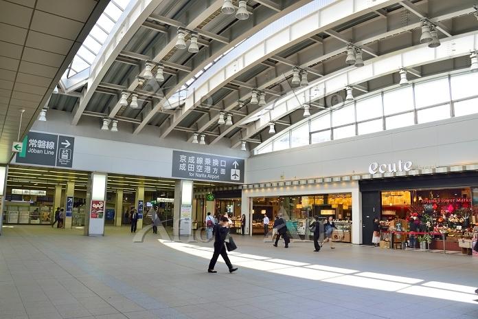 JR日暮里駅コンコース