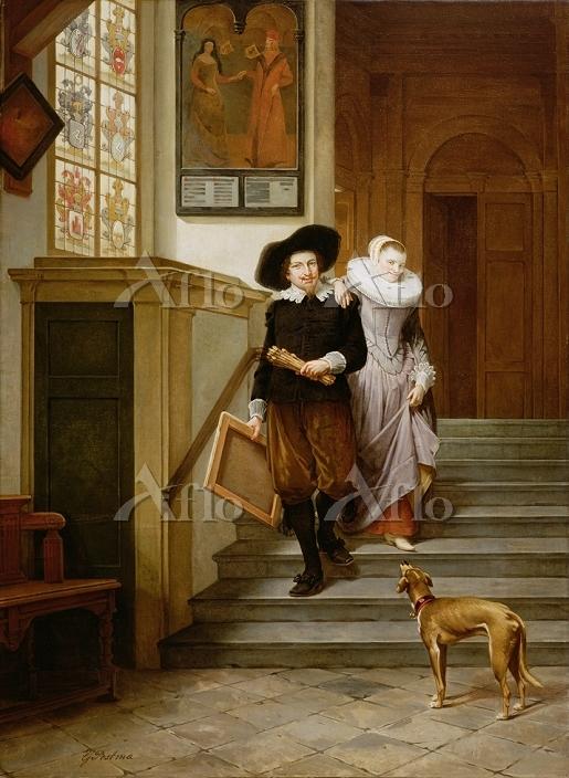 Artist: Postma, Gerrit (1819-9・・・