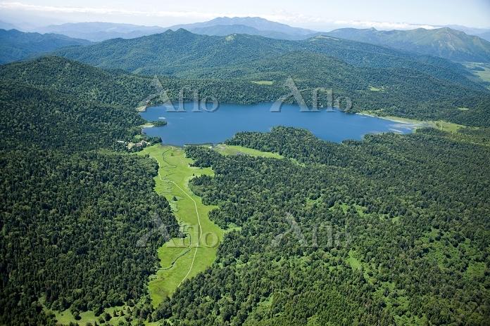 大江湿原 浅湖湿原と尾瀬沼(尾瀬国立公園 日本百景)