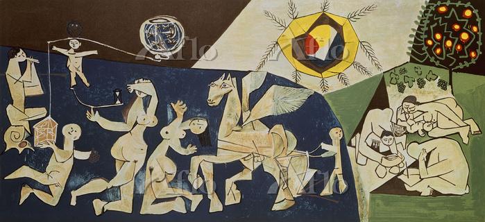 パブロ・ピカソ 「平和(戦争と平和)」