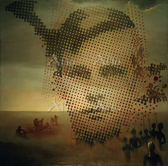 サルバドール・ダリ 「亡き兄の肖像」