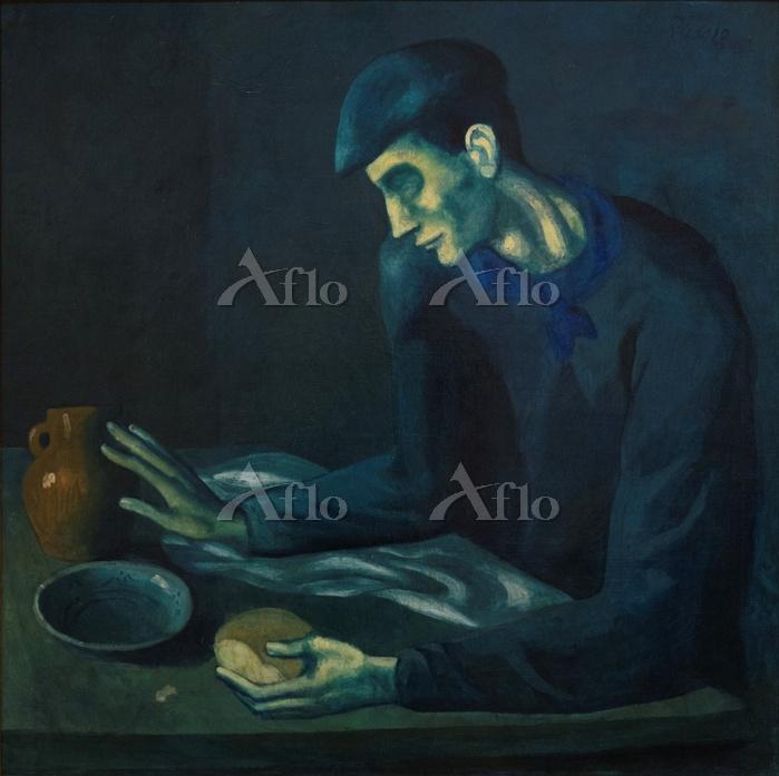 パブロ・ピカソ 「盲人の食事」