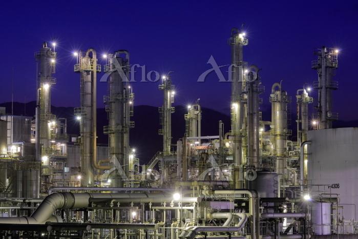 静岡県 静岡の工場夜景