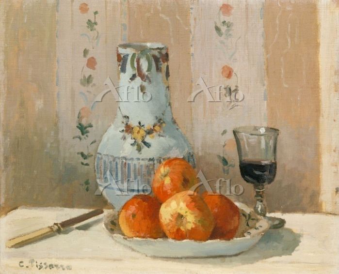 Still Life with Apples and Pit・・・