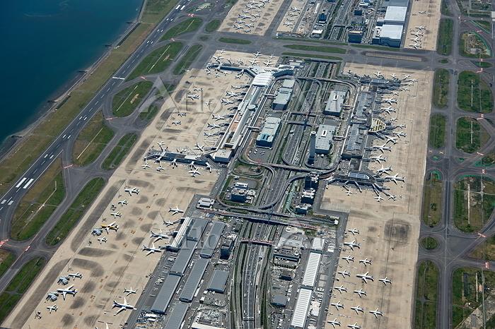 東京国際空港(羽田空港)羽田空港第1・第2ターミナル周辺と旅・・・
