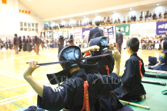 剣道の試合
