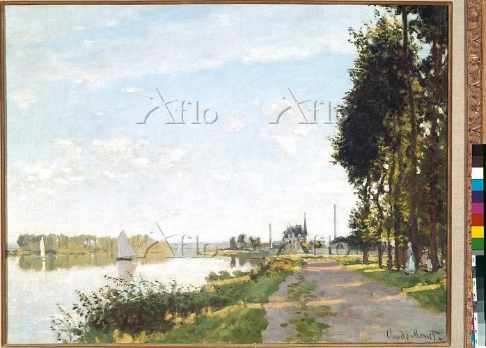 クロード・モネ 「アルジャントゥイユの散歩道」