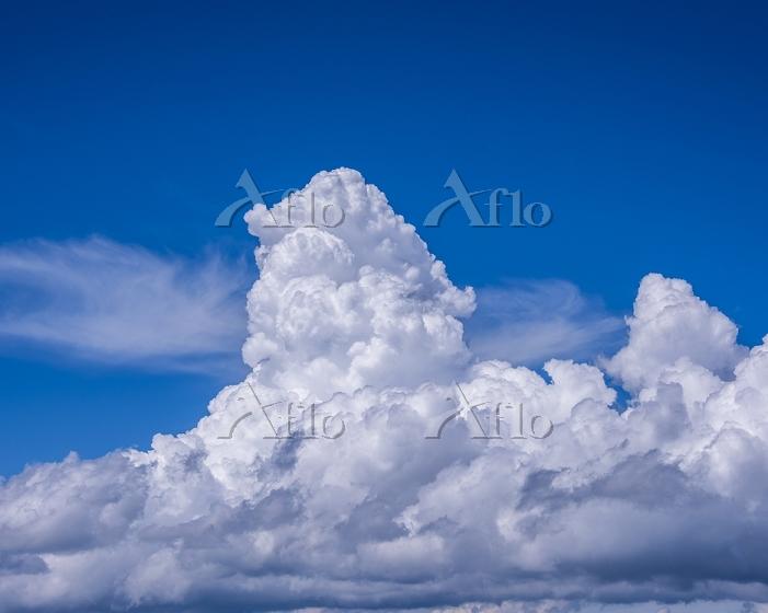 山梨県 瑞牆山山頂 入道雲