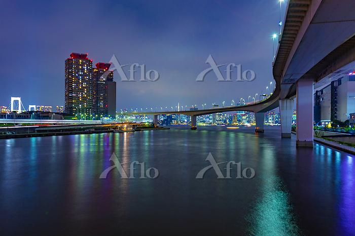 東京都 豊洲 夜景