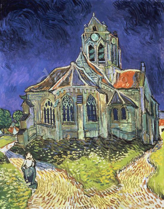 ゴッホ 「オヴェールの教会」