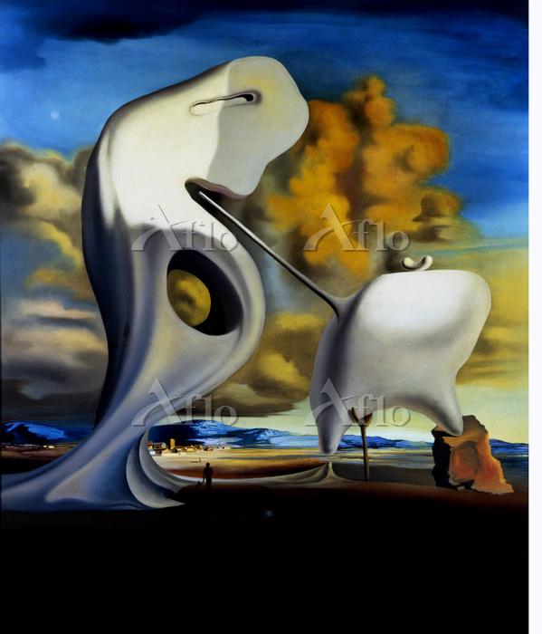 サルバドール・ダリ 「ミレーの建築学的晩鐘」