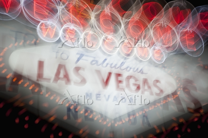 Welcome to Las Vegas Sign at N・・・