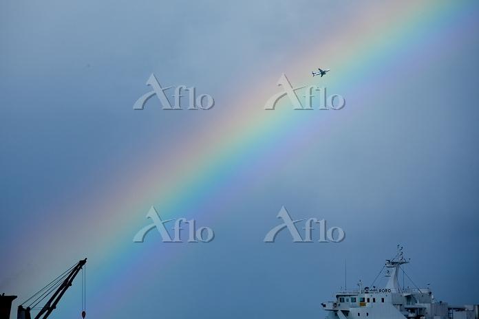 沖縄県 虹