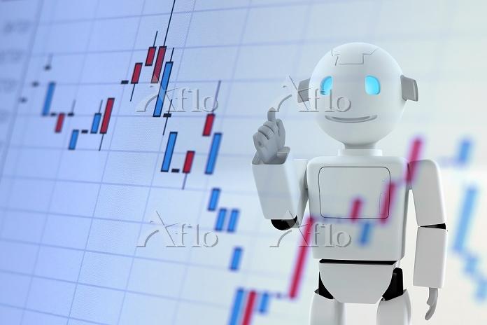 ロボットとグラフ CG